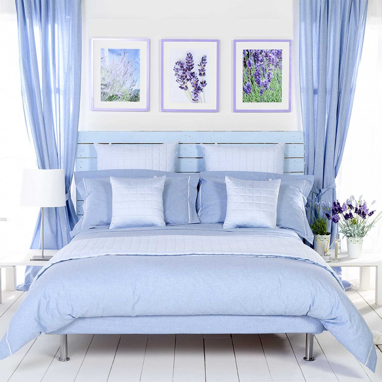 Chambray Bed Linen Collection